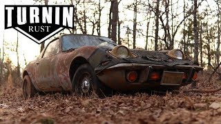 Two Opel GT's Left For Dead | 1972 Opel GT | A Turnin Rust Extra