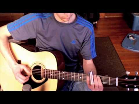 Yamaha FD01S Acoustic Slide Guitar noodling