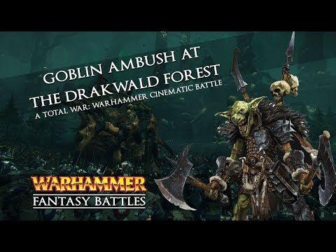 Goblin Ambush Battle at The Drakwald Forest - A Total War: Warhammer Cinematic Battle  