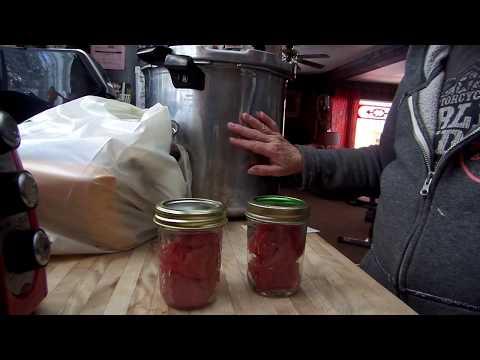 Pressure Canning Tuna