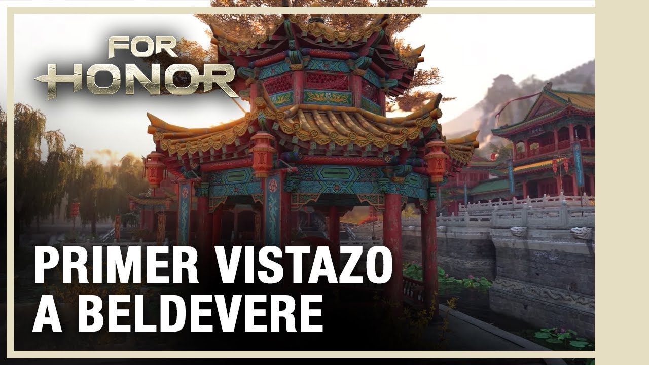 For Honor | Año 4 Temporada 3 - Trailer Nuevo Mapa Belvedere
