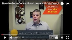 How to Get a Conventional Loan with 3% Down!