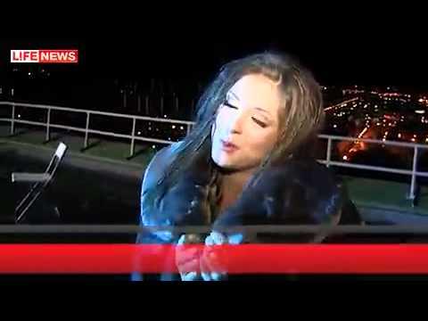 Нюша / Nyusha - Съемки клипа Выше (Lifenews)
