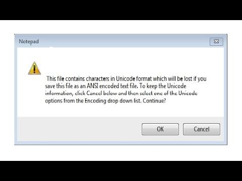 Проблема с сохранением Notepad (ANSI – Unicode encoding) ?