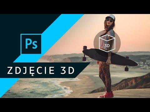 Jak zrobić grafikę 3D na Facebook? ▪ Adobe Photoshop #01 | Poradnik ▪ Tutorial thumbnail
