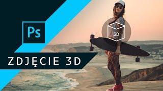 Jak zrobić grafikę 3D na Facebook? ▪ Adobe Photoshop #01 | Poradnik ▪ Tutorial