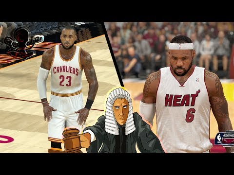 NBA 2K17 vs NBA 2K14 WHICH GAME LOOKS BETTER? YOU BE THE JUDGE