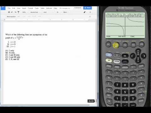 Limits and horizontal asymptotes with graphing calculator ccuart Image collections
