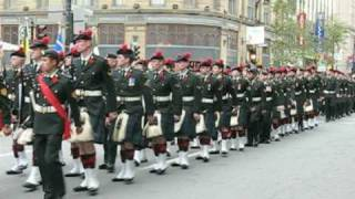 The Black Watch Regiment  of Canada (R.H.R.) - Remembrance Day 2008 Parade