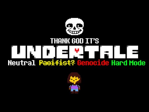 TGI Undertale With Cry and Russ