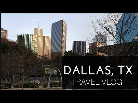 Life in Dallas, Texas | Uptown • Downtown | Travel VLog