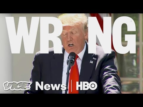 Trump Got Climate Change Pretty Wrong in His Paris Speech (HBO)