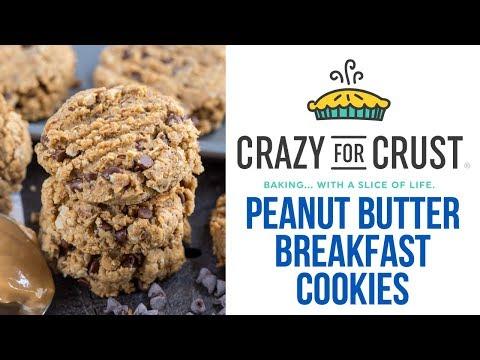 Peanut Butter BREAKFAST COOKIES!!