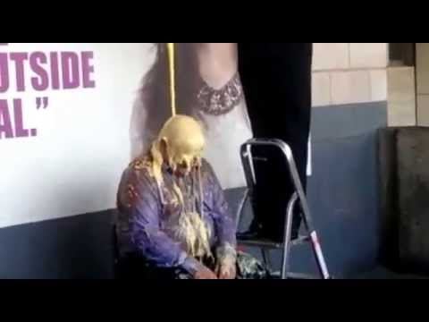 Director of Finance gets a gunging for R Charity!
