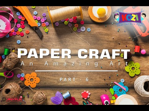Easy Paper Crafts For Kids | Amazing Paper Craft Ideas | Part 05 | Kids Own Zone India