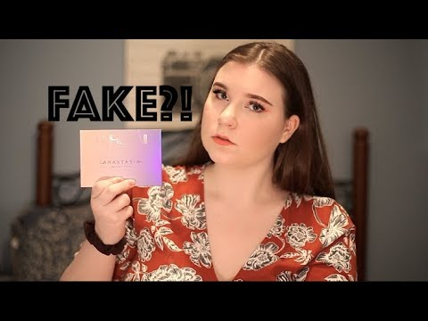 IS THE HIGH END MAKEUP AT TJ MAXX FAKE?!