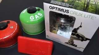 Optimus Crux Lite leichter kompakter Gaskocher