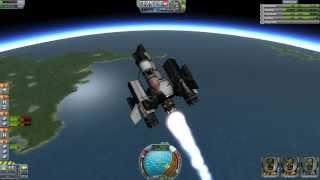 Kerbal Space Program - Reddit 3 Man SSTO Challenge & Deep Space Network News October 9th