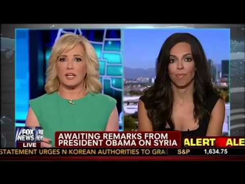 Syrian Update by Lisa Daftari   Jamie Colby   America Live   Fox News   8 30 13