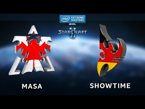 StarCraft 2 - MaSa vs. ShoWTimE (TvP) - Map 1-4 - IEM Shanghai - Ro8
