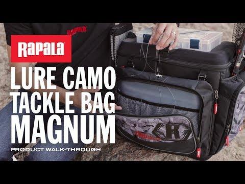 PRODUCT WALK-THROUGH: LureCamo Tackle Bag Magnum - Rapala®