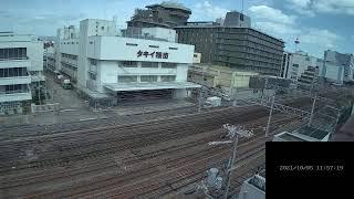 【LIVE】京都駅 JR京都線 鉄道ライブカメラ (ch2) 京都駅方面(東向き) Tokaido Main Line (JR Kyoto Line) 2021/10/05 00:00~11:59