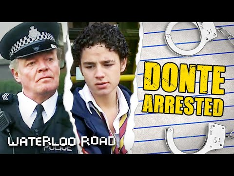 Mr Treneman Gets Donte Arrested for Stealing Bus Ticket | Waterloo Road