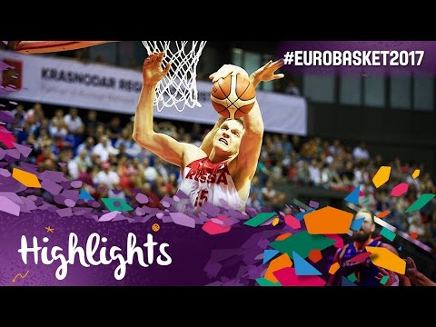 Russia v Sweden - Highlights - FIBA EuroBasket 2017 Qualifiers