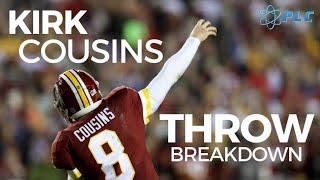 Kirk Cousins Throwing Breakdown   Future Minnesota Vikings Quarterback