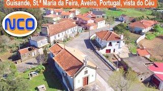Guisande, Santa Maria da Feira, Aveiro, Portugal (Visto de Céu )