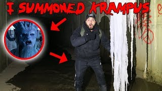 I SUMMONED KRAMPUS IN THE HAUNTED MOE SARGI TUNNEL WITH A OUIJA BOARD & THIS HAPPENED!! | MOE SARGI