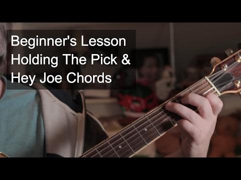 Holding The Pick & Hey Joe Chords | Jason Read - Guitar Lessons ...