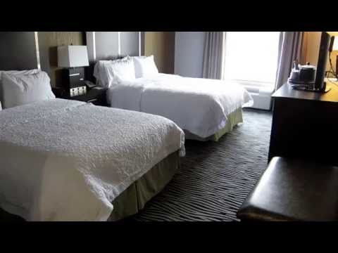 Hampton Inn & Suites Tulsa Central ROOM TOUR