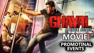 Ghayal Once Again (2016) Movie Promotional Events | Sunny Deol, Soha Ali Khan, Om Puri