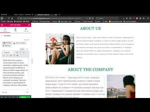 WordPress Tutorial: How to change fonts using Elementor thumbnail