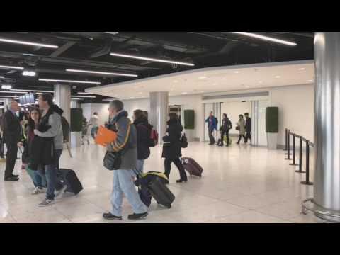 Arrivals Area Terminal 1 Dublin Airport, November 2016