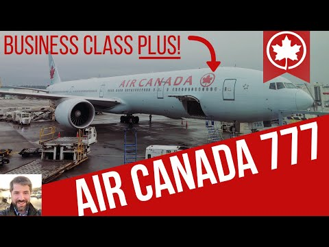 Air Canada Business Class 777
