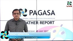 Public Weather Forecast Issued at 4:00 AM July 25, 2017