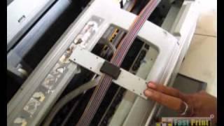 CISS Epson Photo Stylus 1390 - Cara Infus Modifikasi R1390