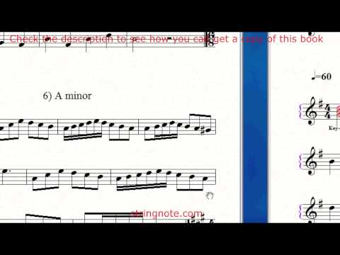 Learn to sing notes on a music sheet Grade 4