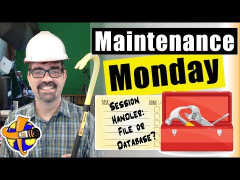 Set Joomla Session Handler To PHP Instead Of Database - Joomla 🛠Maintenance Monday Live Stream #003