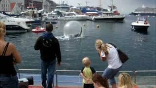 Felles ferien begynner i sentrum Stavanger - Summer holiday 2010 starts in Stavanger