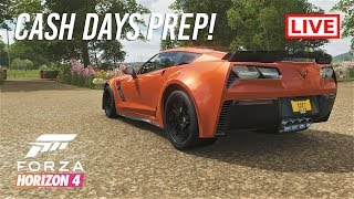 Forza Horizon 4 | CASH DAYS PREP - All Out Fast RWD Cars Street Racing | Test N Tune