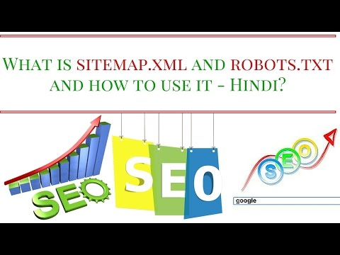 What Is Sitemap.xml And Robots.txt And How To Use It - Hindi?