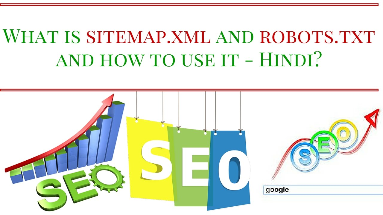 what is sitemap xml and robots txt and how to use it hindi youtube
