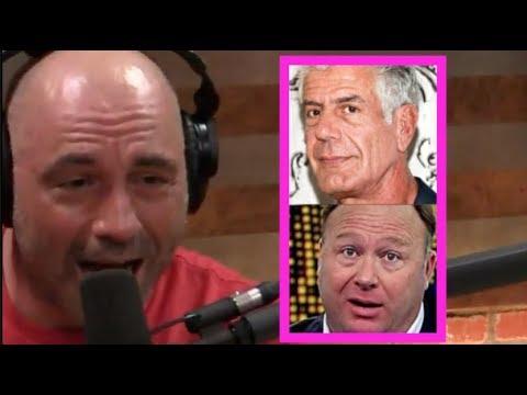 Joe Rogan - Alex Jones Is Wrong About Anthony Bourdain!