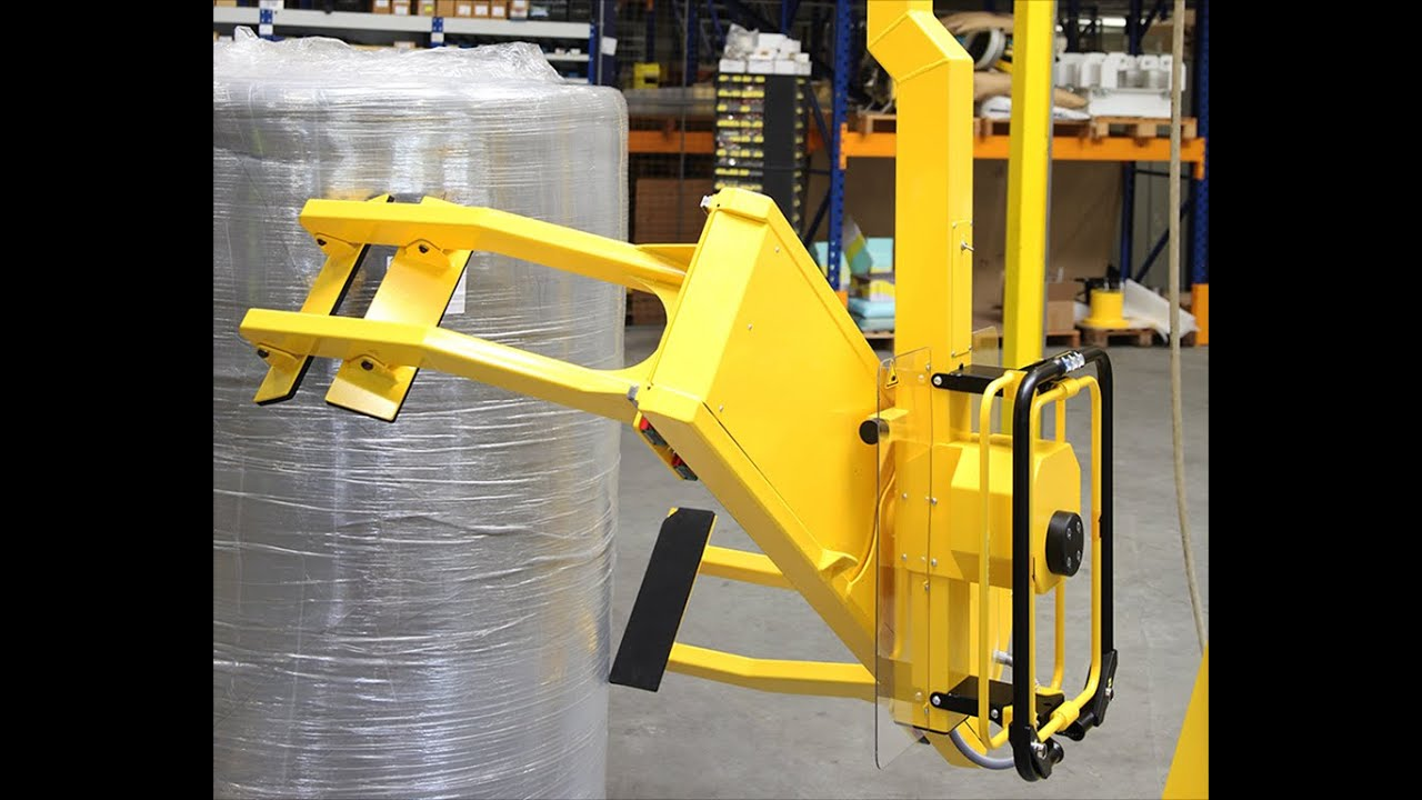 Roll Turner By Dotec With Od Clamping Device Youtube