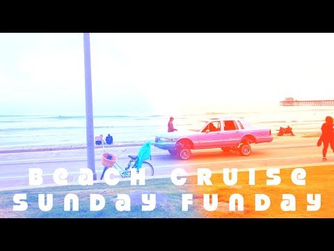 Oceanside beach cruise Sunday funday [Vlog]