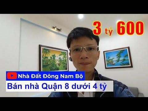 Chính chủ Nhà bán đường Bùi Minh Trực Quận 8, gần chợ Nhị Thiên Đường