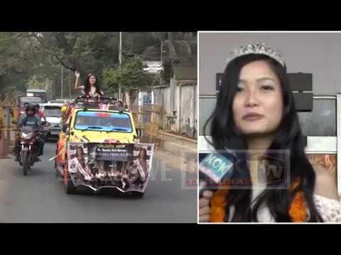 FEMINA MISS INDIA TRIPURA 2018 II MAMITA DEBBARMA II EXCLUSIVE